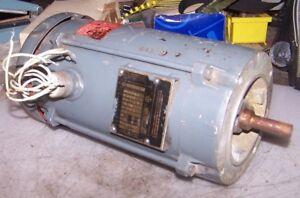 BALDOR 3/4 HP HAZARDOUS LOCATION ELECTRIC AC MOTOR 115/230 VAC 1725 RPM 1Ø