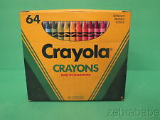 Vintage Crayola Crayons 64  Very Good Condition.
