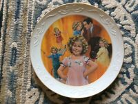"Shirley Temple signed ""Curly Top"" 10.5"" plate"