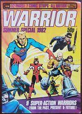 Warrior #4 Vg 4.0 (Qc 1982) - Alan Moore V for Vendetta & Marvelman