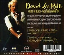 DAVID LEE ROTH - HOUSE OF BLUES-WEST HOLLYWOOD '94  2 CD NEUF