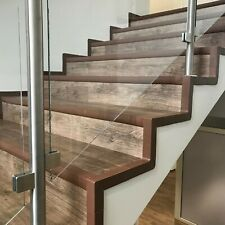 QUEST Set of Angle PVC Stair Profile Nosing Step Rubber Staircase System