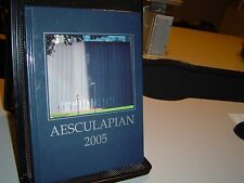 2005 AESCULAPIAN YEARBOOK Baylor College of Medicine HOUSTON TEXAS Genealogy