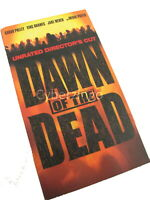 Dawn Of The Dead Sarah Polley Ving Rhames Unrated Directors Cut VHS Tape