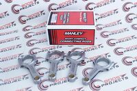 """MANLEY H-Beam Rods .8868"""" Pin Bore For Mazda Speed 3 MZR 2.3L DISI Turbo"""