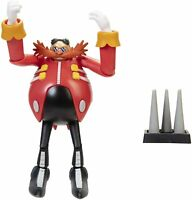 "Sonic The Hedgehog 4"" Dr. Eggman Action Figure with Spike Trap Accessory"