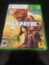 Max Payne 3 (Microsoft Xbox 360, 2012)