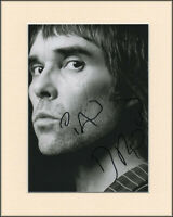 Ian Brown The Stone Roses Original Hand Signed Mounted 10x8 Autograph Photo COA