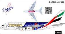 1/144 Airbus A-380 Emirates LA Dodgers decals