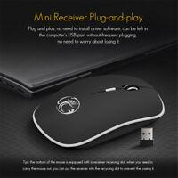 Mini Wireless Mouse Silent Computer Mouse 2.4Ghz 1600 DPI Ergonomic Mause Tip
