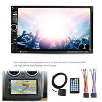 """7"""" 2Din HD Car Audio Stereo MP5 Player FM GPS Bluetooth USB/TF/AUX Touch Screen"""