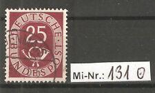 Bundesrepublik Mi-Nr.: 131 ex Posthornsatz 1951 sauber gestempelter Wert