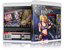 Lollipop Chainsaw - PS3 Cover and Case. NO GAME!!