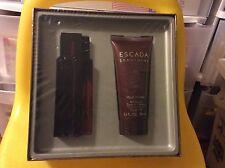 ESCADA SENTIMENT POUR HOMME 1.7 Oz EAU DE TOILETTE SPRAY 3.4oz Hair & Body Gel