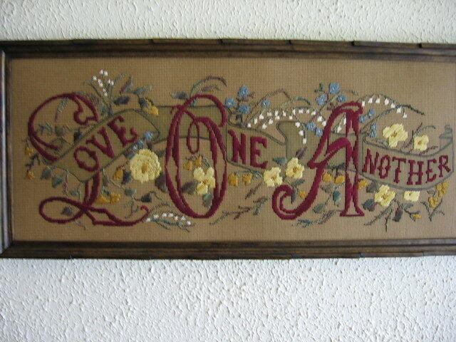 Victorian Motto Sampler Shoppe