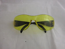 Vision glare reducing H.D. night driving glasses  OSHA approved safety yellow ti