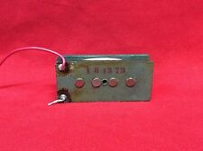 VINTAGE 1973 USA FENDER PRECISION BASS GUITAR SINGLE PICKUP REWOUND 1974