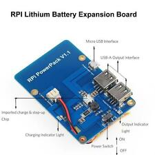 Raspberry Pi 3,Model B Lithium Battery Expansion Board for(battery not included)