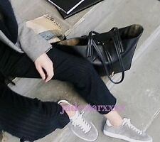 Grey Zara Split Suede Plimsolls Trainers 5 38 Leather New Shoes BNWT