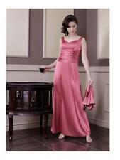 Damen Abendkleid Zweiteiler Partykleid Maxikleid glänzend mit Bolero Übergröße