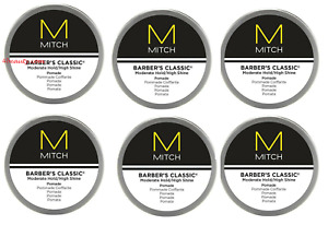 Paul Mitchell Mitch Barber's Classic Hair Pomade 3 oz (pack of 6)