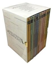 16 Dvd Box Cofanetto «LA GRANDE LETTERATURA SCENEGGIATA» '60-'70 completa nuovo
