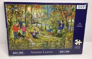 House Of Puzzles Autumn Leaves Big 250 Piece Jigsaw Puzzle