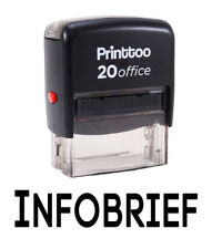 Printtoo Inforbrief Self Encrage Rubber Stamp Office Personnalisé Timbre
