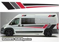 Motorhome Campervan 001 graphics stickers decal Fiat Ducato Citroen Relay Boxer