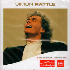 SIMON RATTLE - Les Stars Du Classique  -  NEW SEALED CD