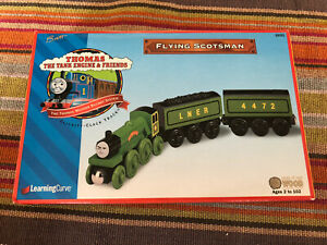 1999 Learning Curve Wooden Thomas Train 1st Edition Flying Scotsman! New