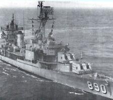 USS Meredith DD-890 Gearing-class destroyer Navy Passenger Postcard