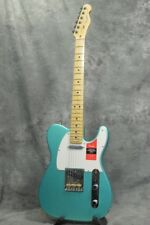 New Fender USA American Professional Telecaster Mystic Seafoam Maple Guitar