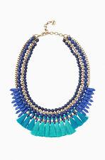 Stella & Dot Tresse Statement Necklace Brand New In Original Box