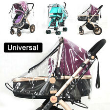 Universal Buggy Rain Cover Baby Pushchair Stroller Pram Buggy Clear Raincover UK