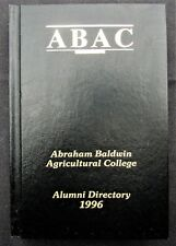 1996 Abraham Baldwin Agricultural College Alumni Directory - ABAC- Tifton, Ga