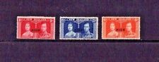 1937 - NIUE / NEW ZEALAND - CORONATION KING GEORGE V1 SET - OPTD NIUE - FINE MH