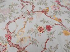 Schumacher Curtain Fabric 'ARBRE CHINOIS' 2.5 METRES (250cm) Sage - 100% Linen