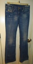 Diesel Industry Denim Jeans Louvely 26W 34L New wash code 008HL Stretch
