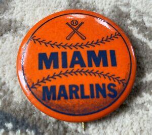 Rare Vintage 1950's Miami Marlins Minor League Baseball Pinback Button