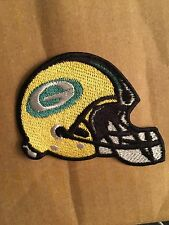 GREEN BAY PACKERS HELMET PATCH IRON ON OR SEW ON