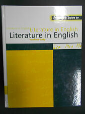 Reader's Guide to Literature in English by Taylor & Francis Ltd (Hardback, 1996)