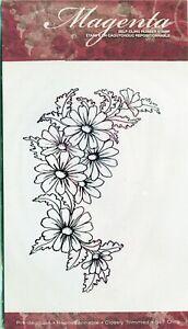 Magenta - Rubber Stamp - Daisy Corner - C.09 243.P