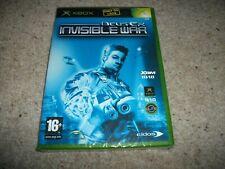 Deus Ex 2: Invisible War (Microsoft Xbox, 2003) NEW & SEALED