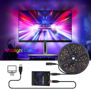 Ambilight HDMI LED Strip Controller Dynamic by Screen Backlights TV PC Monitor