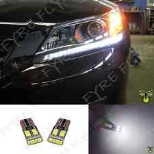 6000k LED Light Headlight Strip Bulbs 2013+ Honda Accord 4dr Sedan 2dr Coupe #X7