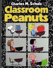 Classroom Peanuts - Charles Schulz - Hardcover SCARCE 1st PRINT 1982