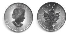 2018 Canada 1 Oncia OZ Argento Foglia Acero Fior di Conio Unc