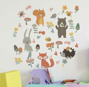 🌸Wandtattoo|Kinder-Babyzimmer|Tiere|Wandsticker|Mädchen|Junge|Neu🌸