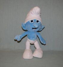 "Plush Smurfs Movie 2011 Jakks 10"" Smurf"